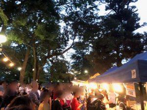 碑文谷公園盆踊り