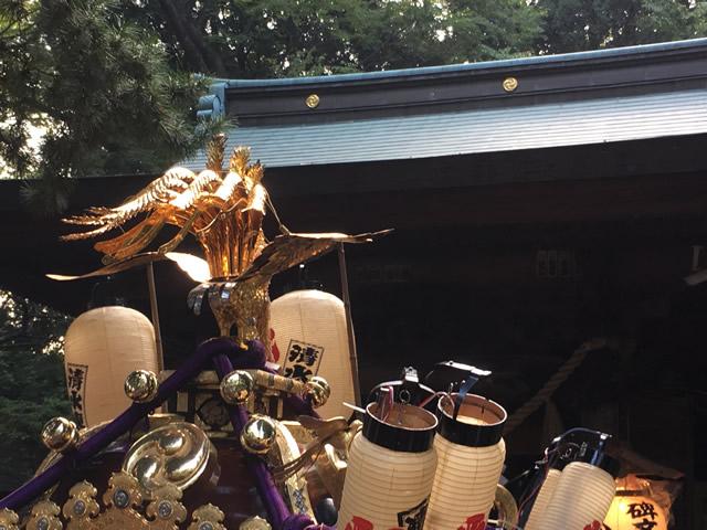 碑文谷八幡宮 お祭り 2018