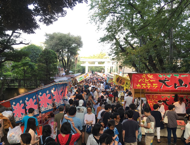 碑文谷八幡宮例大祭 2018